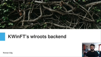 KWinFT's wlroots backend