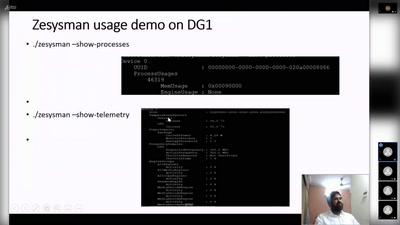 Enabling Level zero Sysman APIS for Tool developers to control the GPUs.