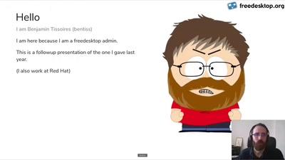 Status of freedesktop.org gitlab/cloud hosting