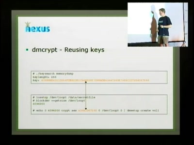 Cryptographic key recovery from Linux memory dumps