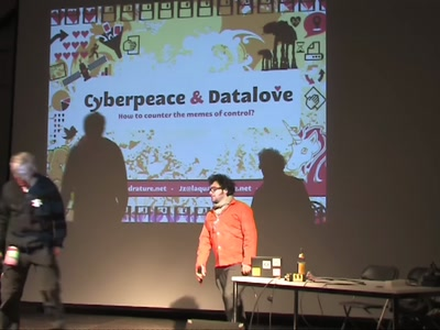 Cyberpeace and Datalove