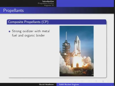 Solid rocket engines