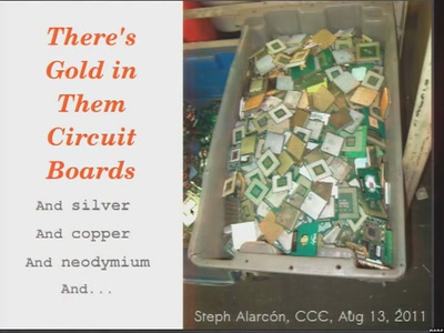 There's Gold in Them Circuit Boards