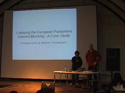 Counter-lobbying in the EU Parliament