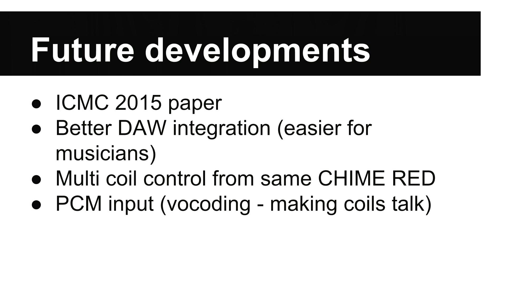 media ccc de - Making coils more musical
