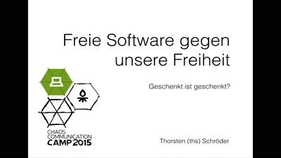 Freie Software gegen unsere Freiheit?