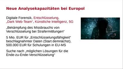 Neue europäische Überwachungslandschaft