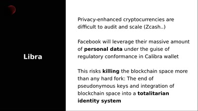 Fighting back against Libra - Decentralizing Facebook Connect