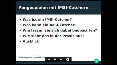 Fangespielen mit IMSI-Catchern