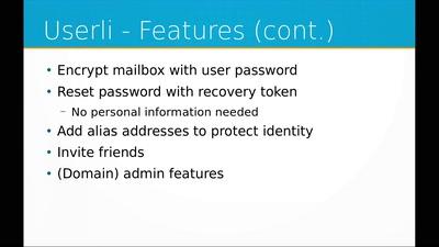 E-Mail-Privatheit und Mailbox-Verschlüsselung