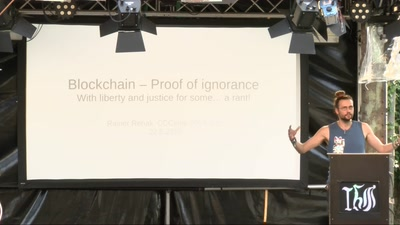 Blockchain: Proof of ignorance