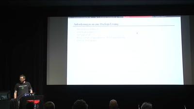 Versteckter Block-Speicher mit ElectroBSD und Tor