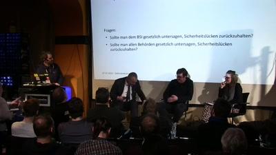 Panel zum IT-Sicherheitsgesetz v2.0