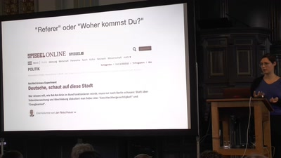Keynote: Per Datenauskunft zum eigenen Clickstream