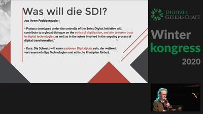 Keynote: Die Schweiz will zum Digitale Ethik-Vorzeigeland werden … seriously?