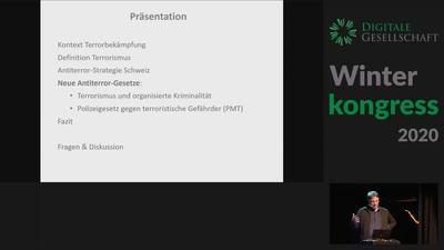 Neue Antiterror-Gesetze Schweiz. Überwachung, Pre-Crime, Gefährder …