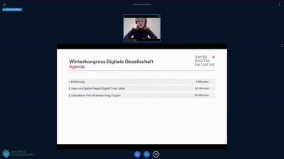 """Was braucht es zum erfolgreichen """"Digital Trust Label"""" ?"""