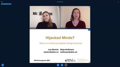 Hijacked Minds? Warum wir ethisches digitales Design brauchen