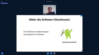 Von Freier Software zu nachhaltiger Software - und wieder zurück