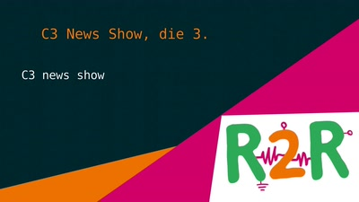 C3 News Show, die 3.