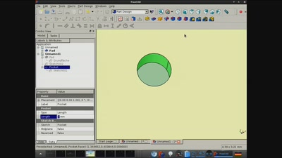 Part Design mit FreeCAD