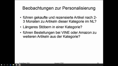 Amazon VINE Inside