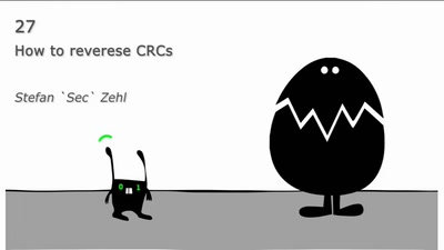 How to reverese CRCs