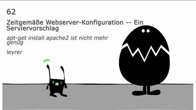 Zeitgemäße Webserver-Konfiguration -- Ein Serviervorschlag