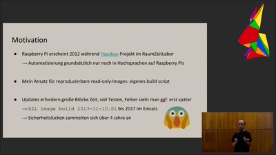 gokrazy: ein Go userland für Raspberry Pi 3 appliances