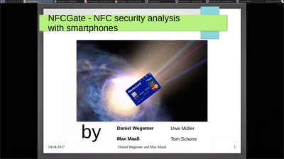 NFCGate - NFC security analysis with smartphones