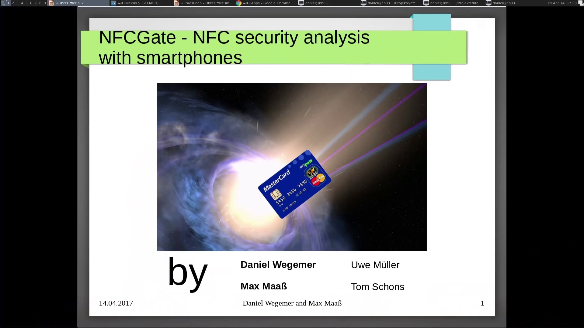 media ccc de - NFCGate - NFC security analysis with smartphones