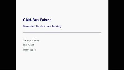 CAN-Bus Fahren