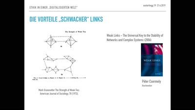 Ethik in einer digitalisierten Welt – Netzwerke in Theorie und Praxis
