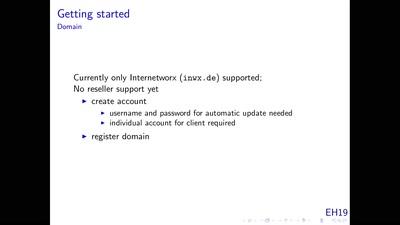 Ansible-Projekt für Mailserver, Mailingliste, CMS und Groupware mit Nutzerverwaltung