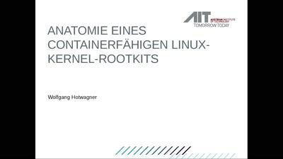 Anatomie eines containerfähigen Linux-Kernel-Rootkits