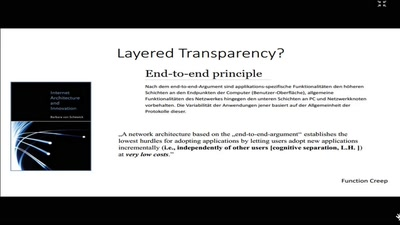 Transparenz zwischen normativem Anspruch und kultivierter Unsichtbarkeit