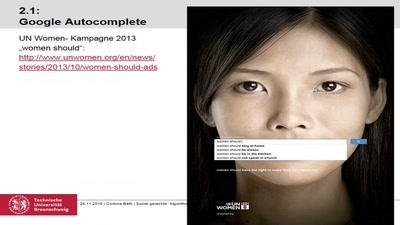Sozial gerechte Algorithmen? Problematiken, theoretische Konzepte und Perspektiven der Geschlechterforschung