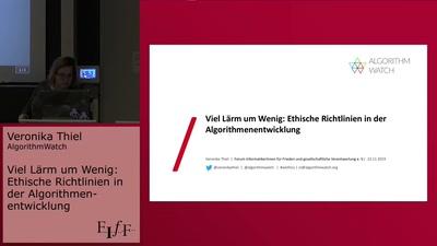 Viel Lärm um Wenig: Ethische Richtlinien in der Algorithmenentwicklung