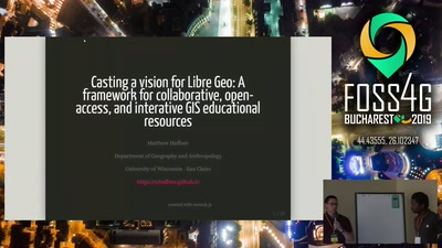 A framework for collaborative, open-access, and interactive GIS educational resources