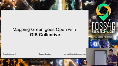Mapping Green goes Open with the GIS Collective