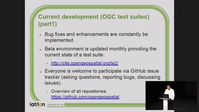 TEAM Engine - Validation of new OGC standard WFS 3.0 and status update of project