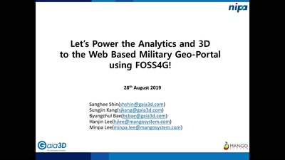 Let's Power the Analytics and 3D to the Web Based Military Geo-Portal using FOSS4G!