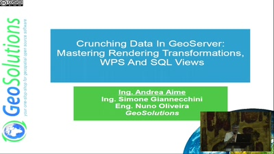Crunching Data In GeoServer : Mastering Rendering Transformations, WPS Processes And SQL Views.