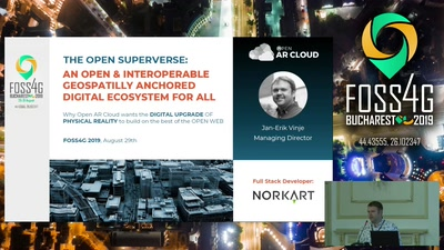 The open geospatially anchored  superverse  ecosystem (Open AR Cloud)