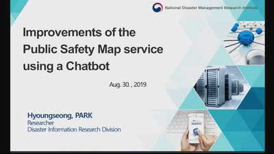Improvements of the Public Safety Map service Using a Chatbot