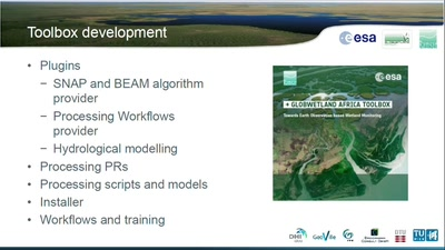 GlobWetland Africa Toolbox: Implementing Earth Observation based Wetland Monitoring Capacity in Africa