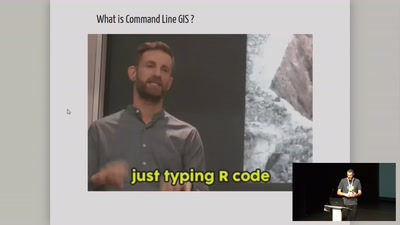 Are we going back to Command Line GIS ?