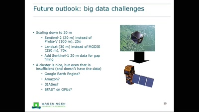 Global land cover monitoring and updating: big data challenges