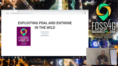 Exploiting PDAL + Entwine in the wild