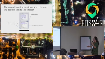 Development of a public toilet search system using open data and chatbots